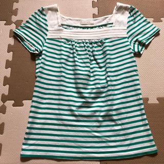 エニィスィス(anySiS)の 【anysis】ボーダーTシャツ トップス(Tシャツ(半袖/袖なし))