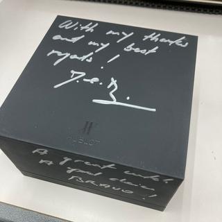 ウブロ(HUBLOT)のHUBLOT ウブロ  サイン入りボックス  箱 ケース ⑤  ビバー(ノベルティグッズ)