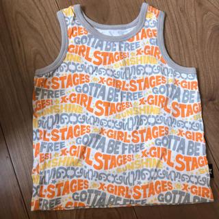 エックスガールステージス(X-girl Stages)のエックスガールステージ タンクトップ Tシャツ(Tシャツ/カットソー)
