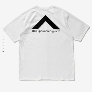 ダブルタップス(W)taps)のLサイズ WTAPS TEE Tシャツ 白 40PCT UPARMORED(Tシャツ/カットソー(半袖/袖なし))