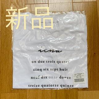 イエナ(IENA)の新品送料込 IENA ロゴTシャツ(Tシャツ/カットソー(半袖/袖なし))