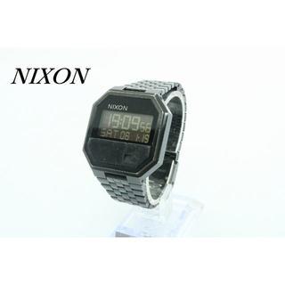 ニクソン(NIXON)の【W-427】電池交換済 難あり NIXON ニクソン デジタル 腕時計(腕時計(デジタル))