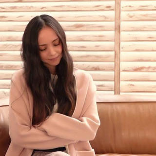 ZARA - ZARAザラパイピングニットコート安室奈美恵ピンク