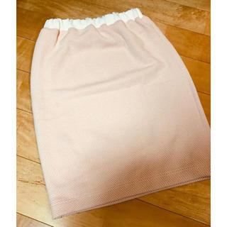 デュラス(DURAS)のDuras 新品タグ付き タイトスカート(ウエストゴム)(ひざ丈スカート)