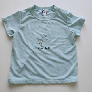 モンベル(mont bell)のmont-bell ミントブルーのTシャツ 80cm(Tシャツ)