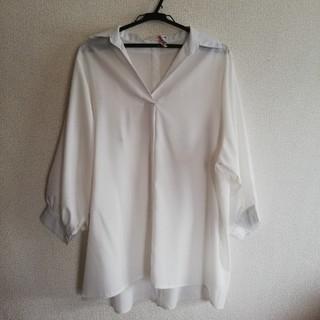 ブージュルード(Bou Jeloud)のブージュルード ロングシャツ Mサイズ(シャツ/ブラウス(長袖/七分))