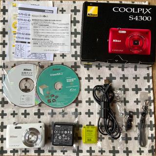 ニコン(Nikon)のNikon  COOLPIX S4300 used (SD16GB付き)(コンパクトデジタルカメラ)