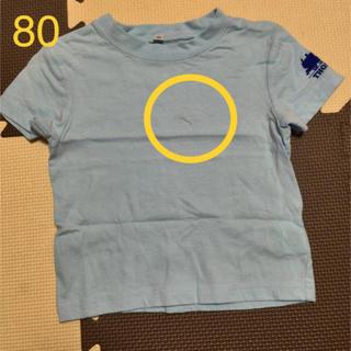 しまむら - トーマス Tシャツ 80 水色