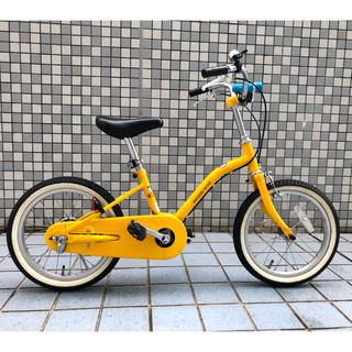 アサヒ(アサヒ)のあさひ 子供用自転車 16インチ 専用補助輪付き イエロー(自転車)