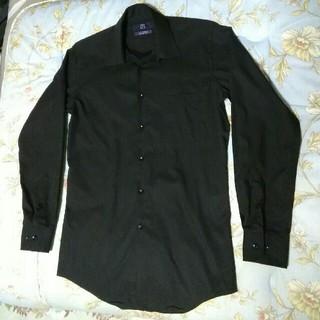 パーソンズ(PERSON'S)のパーソンズブランド シワになりなくい 光沢のある綿デザインシャツ(シャツ)