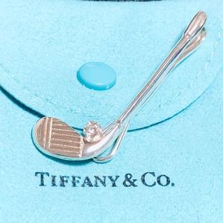 ティファニー(Tiffany & Co.)のTIFFANY&Co. ティファニー シルバー925 タイピン ゴルフ(ネクタイピン)