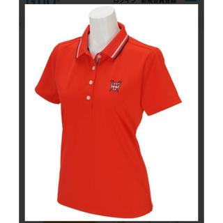 キャロウェイゴルフ(Callaway Golf)の【美品】キャロウェイゴルフ ファイン鹿の子ポロシャツ レディース L(ウエア)