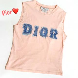 クリスチャンディオール(Christian Dior)の✨人気✨Christian Dior クリスチャン ディオール  タンクトップ(タンクトップ)