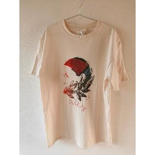 アーティズ(Artyz)のARTY Tシャツ L ベージュ(Tシャツ/カットソー(半袖/袖なし))