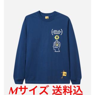 ザノースフェイス(THE NORTH FACE)のBRAIN DEAD×The North Face L/S TEE Mサイズ(Tシャツ/カットソー(七分/長袖))