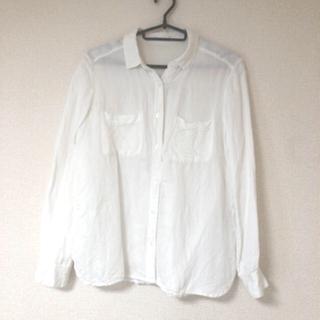 ジーユー(GU)の♡美品♡ジーユー コットンシンプルシャツ(シャツ/ブラウス(長袖/七分))