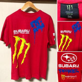 スバル(スバル)の激レア❗️ Monster Energy × DCshoe × スバル Tシャツ(Tシャツ/カットソー(半袖/袖なし))