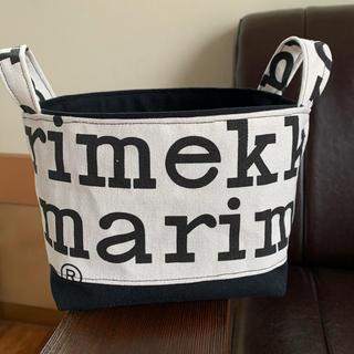 マリメッコ(marimekko)の布バスケット ハンドメイド (雑貨)