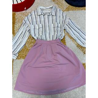 ヴィス(ViS)の可愛いスカートセット(スカート)