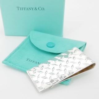 ティファニー(Tiffany & Co.)の希少 美品 ティファニー トレッドプレート マネークリップ IF20(マネークリップ)
