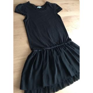 トッカ(TOCCA)のTOCCA💕120 黒ワンピース  ドレス  ブラック(ドレス/フォーマル)