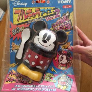 ディズニー(Disney)のミニーちゃんふるキャラアイス夏にむけて(調理機器)