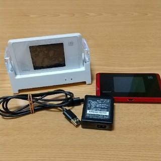 エヌイーシー(NEC)のWX05 Wi-Fiルーター クレードル・アダプタ付(PC周辺機器)
