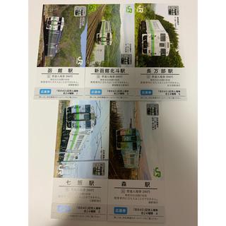 ジェイアール(JR)の北の40 記念入場券 キハ40 北海道JR 鉄道 応募券付き 道南 (その他)