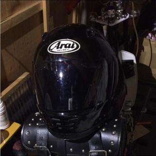 アライテント(ARAI TENT)のアライ ヘルメット フルフェイス ブラック(ヘルメット/シールド)
