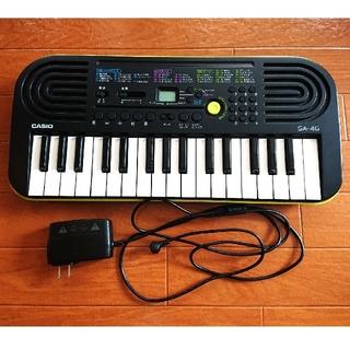 CASIO カシオ 電子ピアノ キーボード  SA-46(電子ピアノ)
