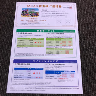 ホンダ(ホンダ)のホンダ株主優待券(遊園地/テーマパーク)