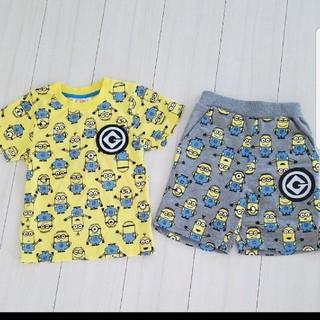 ミニオン(ミニオン)のミニオン Tシャツ ハーフパンツ(Tシャツ/カットソー)