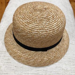ネストローブ(nest Robe)のクラスカ 麦わら帽子 ブリム(麦わら帽子/ストローハット)