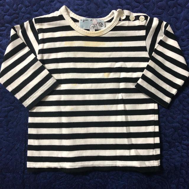 agnes b.(アニエスベー)のキッズ アニエスベー トップス キッズ/ベビー/マタニティのベビー服(~85cm)(シャツ/カットソー)の商品写真