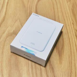 キヤノン(Canon)の【新品未開封】ミニフォトプリンター iNSPiC PV-123 (ブルー)(その他)