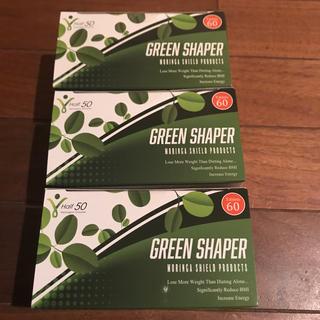 GREEN SHAPER 60粒×3(ダイエット食品)