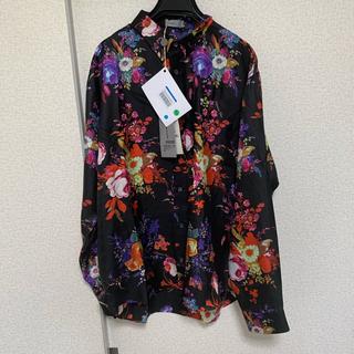 ディオールオム(DIOR HOMME)のDior kaws シルクシャツ 39 (シャツ)