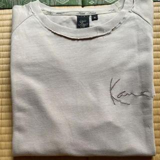 カールカナイ(Karl Kani)のkarl kani  カールカナイ ダメージ加工 半袖Tシャツ モカ色(Tシャツ(半袖/袖なし))