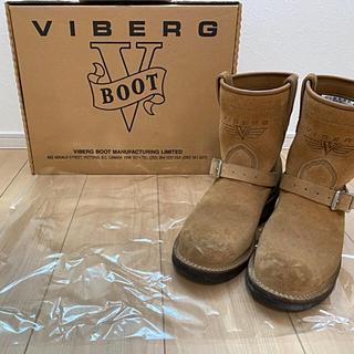 ウエスコ(Wesco)のviberg  ヴァイバー スエードエンジニアブーツ(ブーツ)