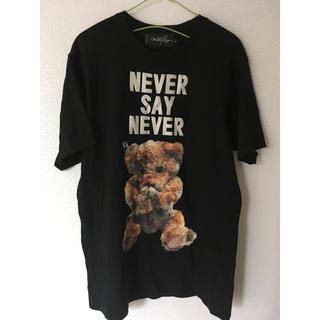 ミルクボーイ(MILKBOY)のmilkboy NEVER SAY NEVER BEAR クマ Tシャツ(Tシャツ/カットソー(半袖/袖なし))