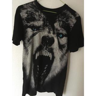 ミルクボーイ(MILKBOY)のオオカミ ウルフ 狼 ハスキー Tシャツ(Tシャツ/カットソー(半袖/袖なし))