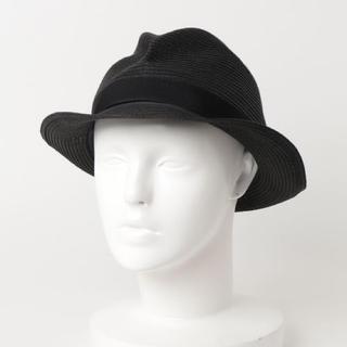 ネストローブ(nest Robe)のmature ha. / BOXED HAT 4.5cm brim(麦わら帽子/ストローハット)