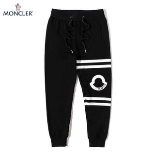 モンクレール(MONCLER)の新品 MONCLER イージー スウェットパンツ ブラック (スラックス)