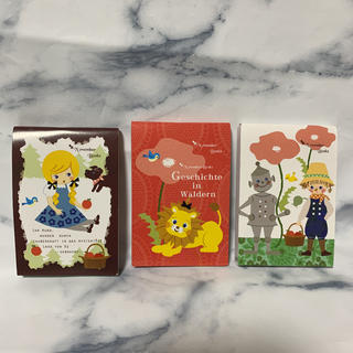 ベルメゾン(ベルメゾン)のミニメモ帳 3冊セット(ノート/メモ帳/ふせん)