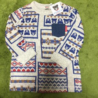 DOUBLE.B - ダブルビー 長袖Tシャツ 80