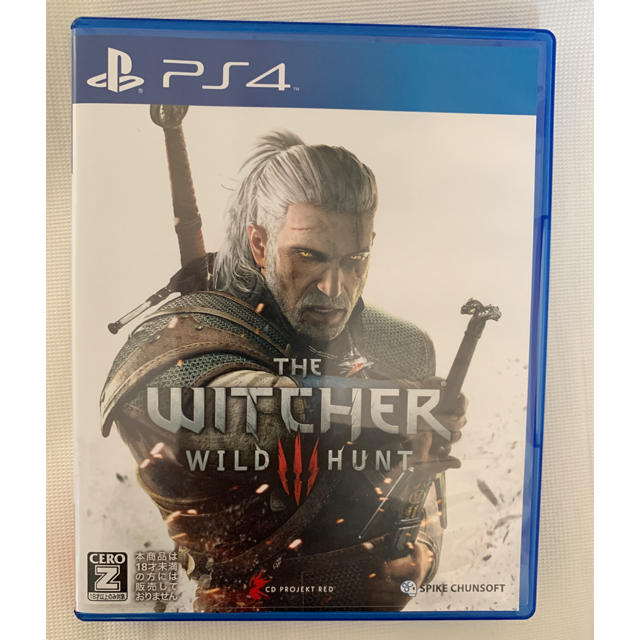PlayStation4(プレイステーション4)のウィッチャー3 ワイルドハント PS4 エンタメ/ホビーのゲームソフト/ゲーム機本体(家庭用ゲームソフト)の商品写真