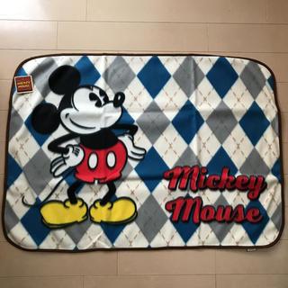ディズニー(Disney)のディズニーミッキーマウス フリースブランケット(毛布)