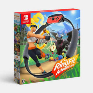 ニンテンドースイッチ(Nintendo Switch)のリングフィットアドベンチャーパッケージ版 新品未開封品(家庭用ゲームソフト)