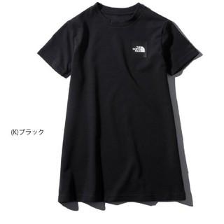ザノースフェイス(THE NORTH FACE)のザ・ノース・フェイス ショートスリーブワンピースTシャツ ブラック 120(ワンピース)