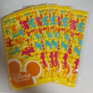 ディズニー(Disney)のディズニーチャンネル ハンカチ 新品5枚(ハンカチ)